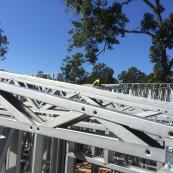 Hytek Steel Framing, roof trusses, striaght plumb, engineered frames