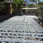 floor trusses, floor truss, steel truss. steel trusses